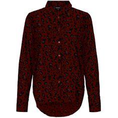 Vero Moda Damska koszula VMNICKY SHIRT COLOR / AOP Port Royale ANNIE (Rozmiar S)