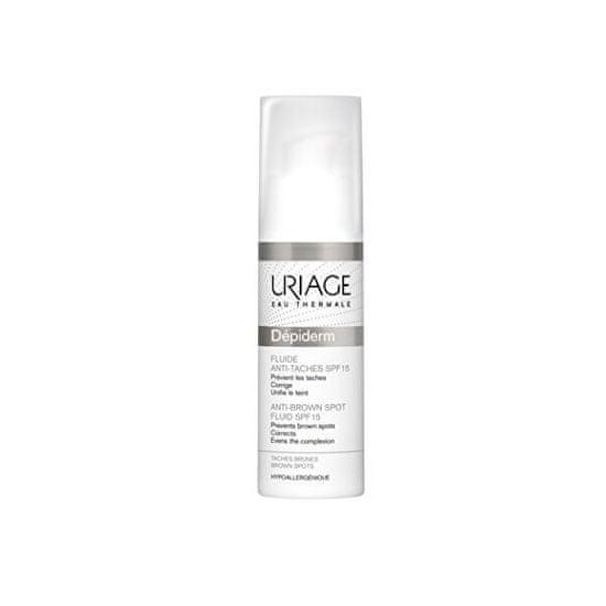 Uriage Fluid krém pigmentfoltok ellenSPF 15 Dépiderm (Anti-Brown Spot Fluid) 30 ml