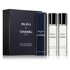 Chanel Bleu De Chanel - EDP 20 ml (plnitelný flakon) + náplň 2 x 20 ml