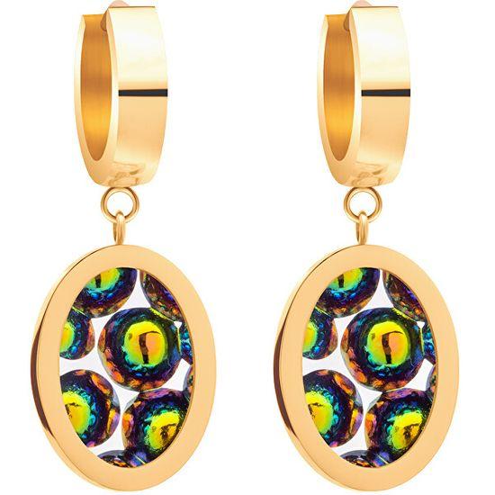 Preciosa Ze staliKolczyki z połyskującymi kryształami Idared 7362Y41