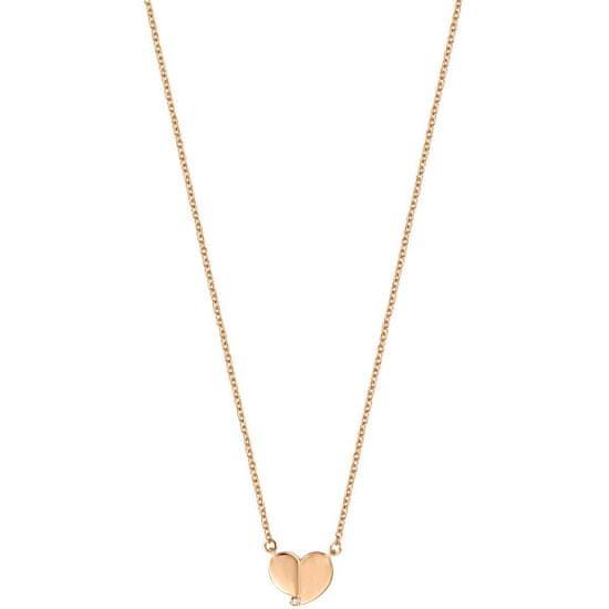 Esprit Srebrna ogrlica s srcem ESNL00871242 srebro 925/1000