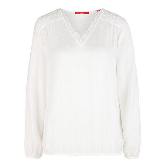 s.Oliver Ženska bluza 14.911.11.2629.0210 Krema