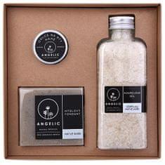 Angelic Dárková krabička Angelic koupelová sůl očišťující Mrtvé moře