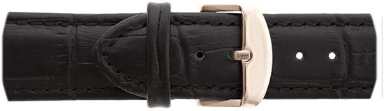 Frederic Graff Rose Mont Fort Croco Black Leather FBL-B001R
