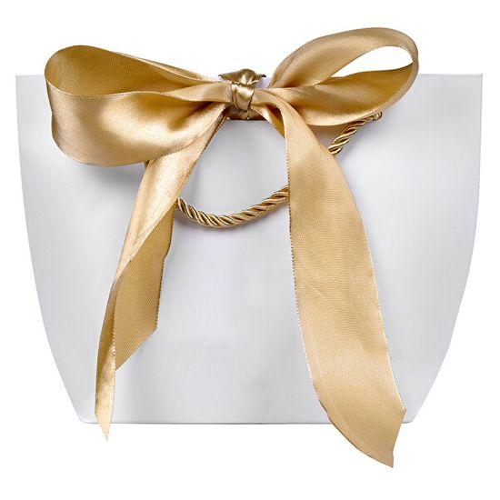 Troli Darčeková taška so zlatou stuhou M
