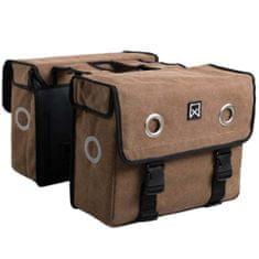 shumee Willex Kolesarska torba 46 L rjava