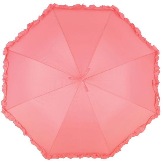 shumee Dežnik Esschert Design z ogrinjalom Flamingo, 98 cm, roza, TP203