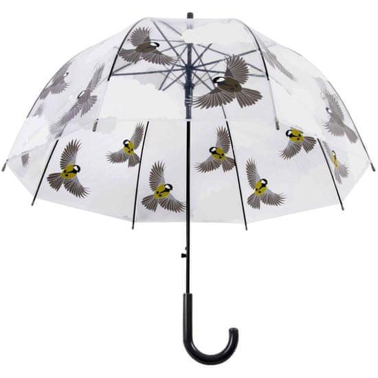 shumee Dežnik Esschert Design s ptičjim potiskom 81 cm TP274