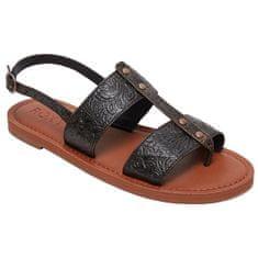 Roxy Dámské sandále Chrishelle Black ARJL200744-BLK (Velikost 37)