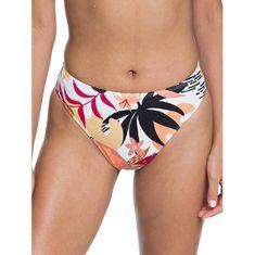 Roxy Ženske kopalke spodnje hlače Pop Surf Hg Lg Md Wst Bright White Nirantara ERJX403911-XWKM (Velikost S)