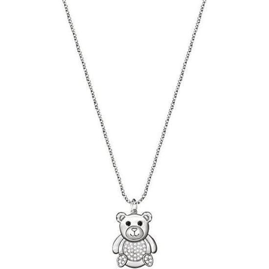 Morellato Roztomilý náhrdelník s medvedíkom Love SOR27 (retiazka, prívesok)