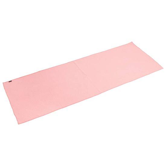 shumee Pure2Improve Ręcznik do jogi, antypoślizgowy, różowy