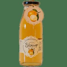 Slaskoukjidlu.cz Citronový sirup - tekuté ovoce v lahvi, 500 ml, citrón