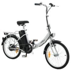 shumee Skladací elektrický bicykel s lítium-iónovou batériou, hliník