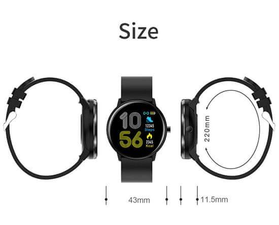 VeryFit MX6 DIX01 BLACK