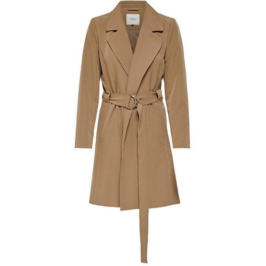 Jacqueline de Yong Női kabát JDYORNELLA BELT TRENCHCOAT OTW YFM Woodsmoke