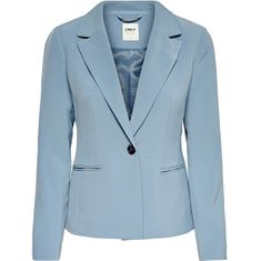 ONLY Női blézer ONLSELMA-ASTRID L/S FITTED BLAZER CC TLR Faded Denim (méret 34)