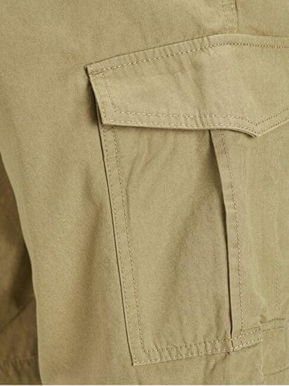 Jack&Jones Moške kratke hlače JJICHARLIE JJCARGO SHORTS AKM 803 Kelp