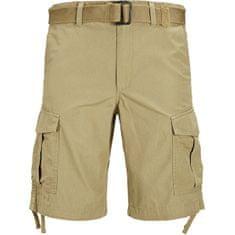 Jack&Jones Moške kratke hlače JJICHARLIE JJCARGO SHORTS AKM 803 Kelp (Velikost S)