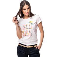Heavy Tools Ženska majica Mano ecru C4S20366EC (Velikost L)