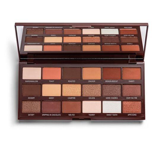 I Heart Revolution Paletka očních stínů Smores Chocolate (Make up Pigment Palette) 18 g