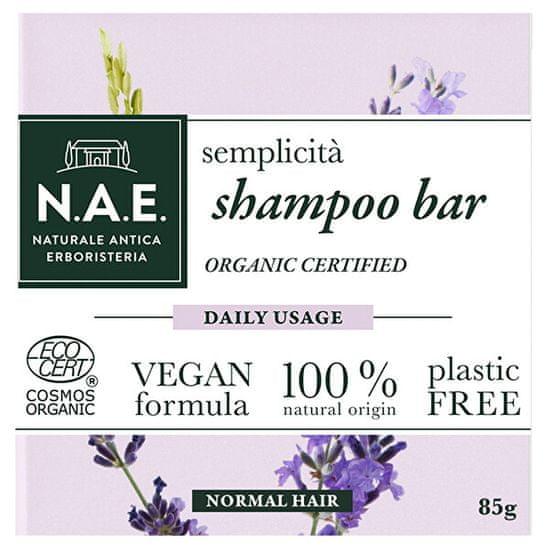 N.A.E. Tuhý šampon pro každodenní použití Semplicita (Shampoo Bar) 85 g