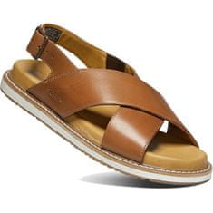 KEEN Dámské sandále LANA CROSS STRAP SANDAL 1022585 tortoise shell/silver birch (Velikost 38)