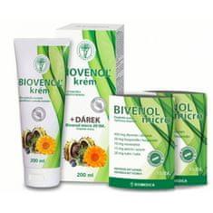 Biomedica Biovenol krém 200 ml + Bivenol micro 20 tabliet