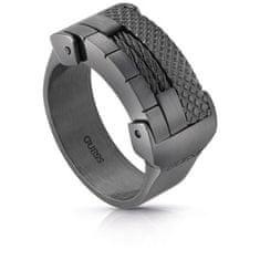Guess Masívní pánský prsten UMR29011 (Obvod 64 mm)