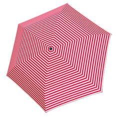 Tamaris Ženski zložljivi dežnik Tambrella Light Stripe roza