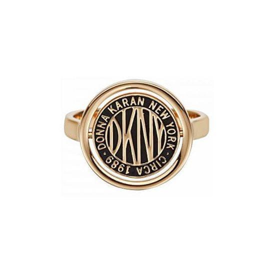 DKNY Štýlový prsteň s logom Token New York 5520037