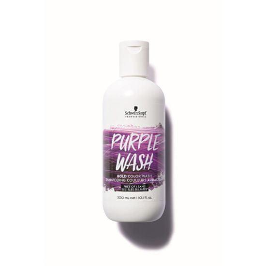 Schwarzkopf Prof. Intenzivní barvicí šampon Bold Color Wash Purple 300 ml