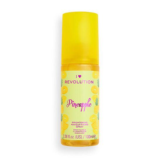 I Heart Revolution Fixační sprej na make-up I♥Revolution Pineapple (Brightening Makeup Fixing Spray) 100 ml