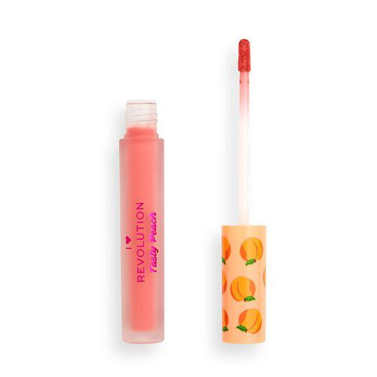 I Heart Revolution Tekoča šminka I ♥ Revolution Tasty Peach (Lipstick) 2 g