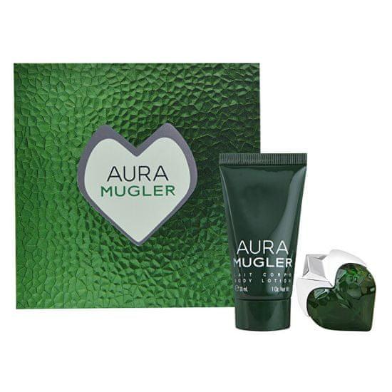 Thierry Mugler Aura Mugler - EDP 5 ml + testápoló 30 ml