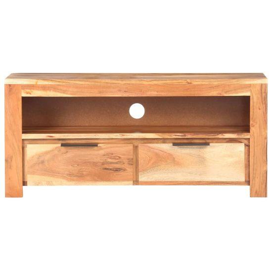 shumee Szafka pod TV, 90x30x40 cm, lite drewno akacjowe