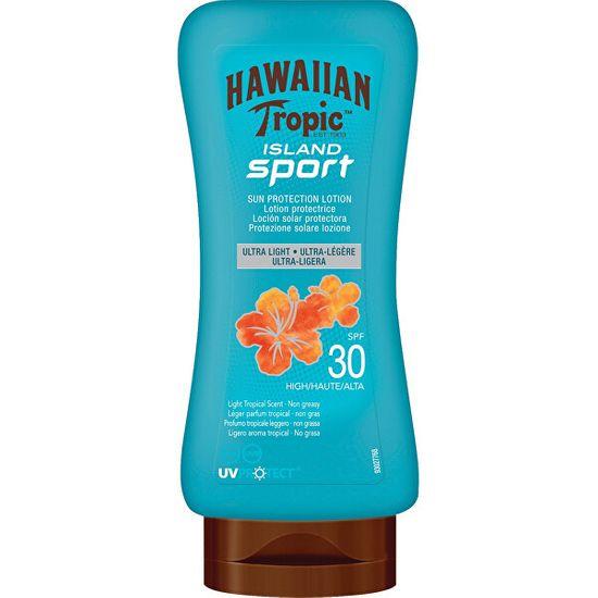 Hawaiian Tropic Balsam do opalania SPF 30 Island Sport ( Protective Lotion Ultra ) Sun ( Protective Lotion Ultra ) L