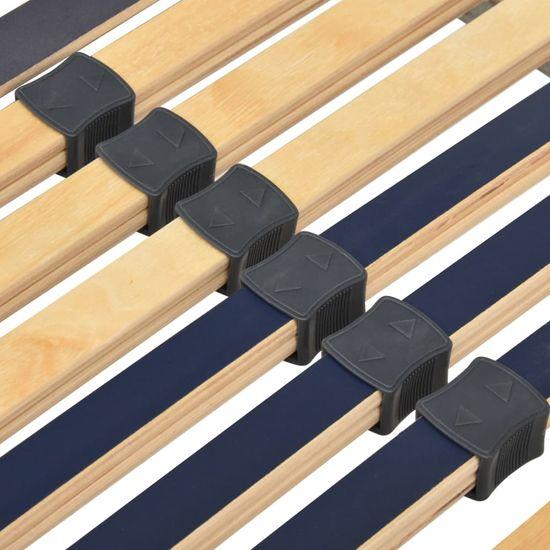 shumee Električno letveno posteljno dno 28 letvic 7 con 80x200 cm