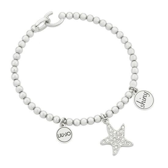 Liu Jo Jeklena zapestnica z morskimi zvezdami LJ1486