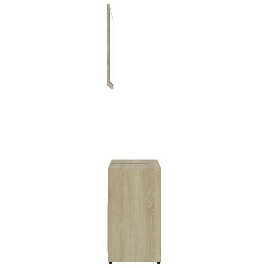 shumee Kopalniško pohištvo sonoma hrast iverna plošča