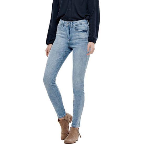 Jacqueline de Yong Dámské skinny džíny JDYJONA 15171481 Light Blue Denim