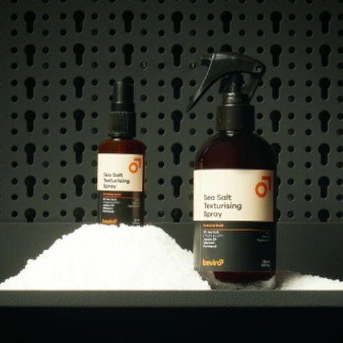 Beviro Słony, teksturujący lakier do włosów Sea Sól w sprayu teksturującym Extreme Hold