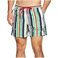 Tommy Hilfiger Moške plavalne kratke hlače Medium Drawstring Drawstring - Print UM0UM01737-0G0 (Velikost S)