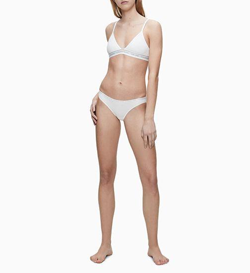 Calvin Klein 2 QD3789E - majtki damskie CK One QD3789E -100
