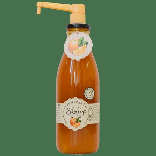 Slaskoukjidlu.cz Pomerančový sirup - tekuté ovoce v lahvi