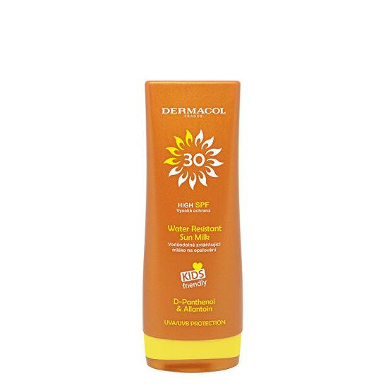 Dermacol Voděodolné mléko na opalování Sun SPF 30 (Water Resistant Sun Milk) 200 ml
