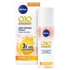 Nivea Energetyzujące perłowe serum przeciwzmarszczkowe Q10 ( Anti-Fatigue ls) Pear ( Anti-Fatigue ls) 30 m