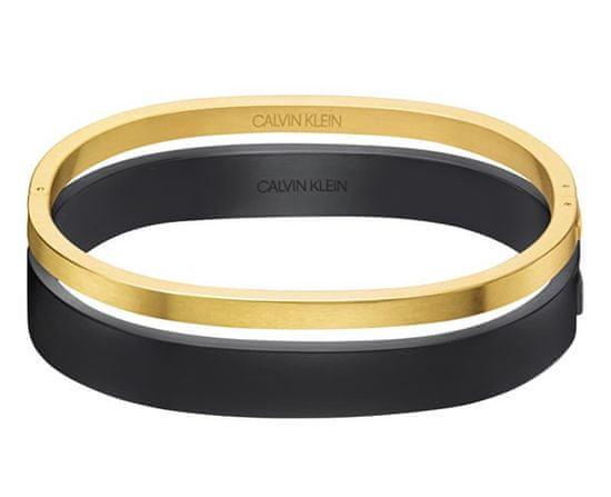 Calvin Klein Luxus bicolor karkötő Hook KJ06JD21010