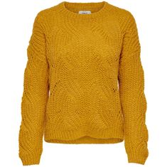 ONLY Ženski pulover ONLHAVANA 15187600 Gold en Yellow (Velikost S)