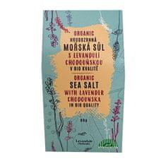 Levandulové údolí BIO Hrubozrnná mořská sůl s Levandulí Chodouňskou 80 g